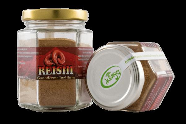 Ljekovite gljive: Reishi, aktivni sušeni micelij u pakiranju/bočici
