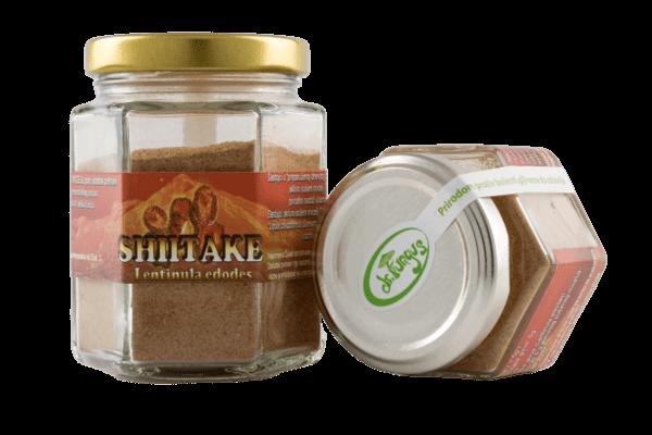 Ljekovite gljive: Shiitake, aktivni sušeni micelij u pakiranju/bočici